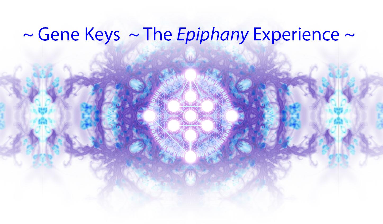 Gene Keys Epiphany Experience